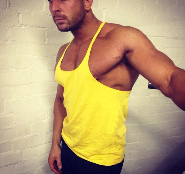 Golds gym fitness wholesale stringer tank top