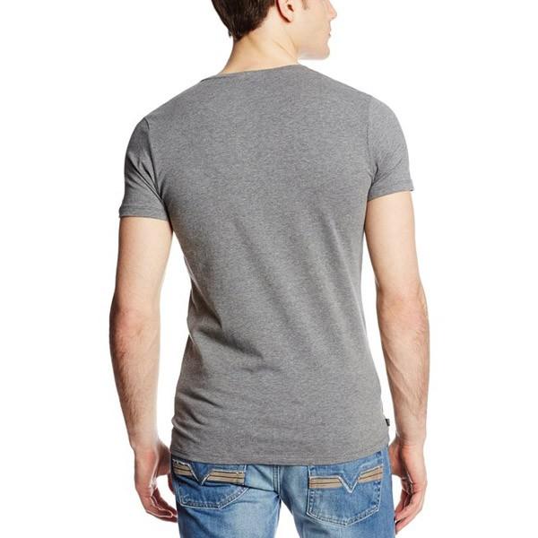 OEM v neck round neck t shirt with custom design