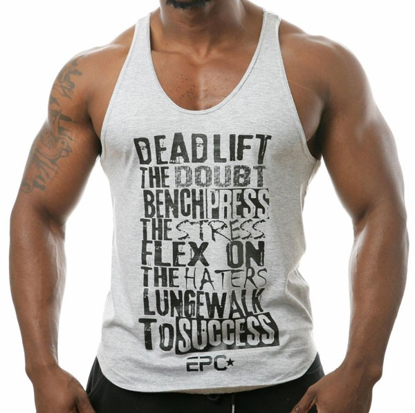 custom logo printed men singlets,gym singlets