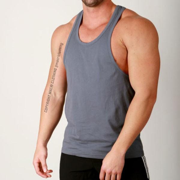 wholesale blank gym stringer vest manufacturer