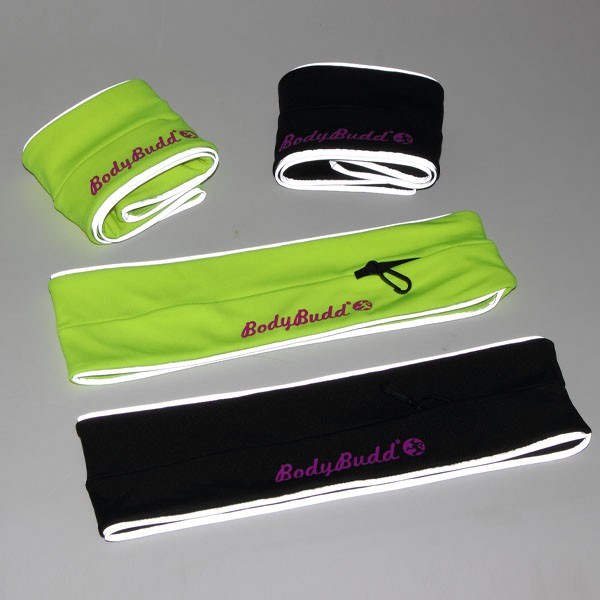 Bodybudd lastest design reflective fitness belt