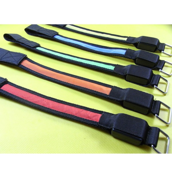 LED High Visibility Flashing Safety Armband