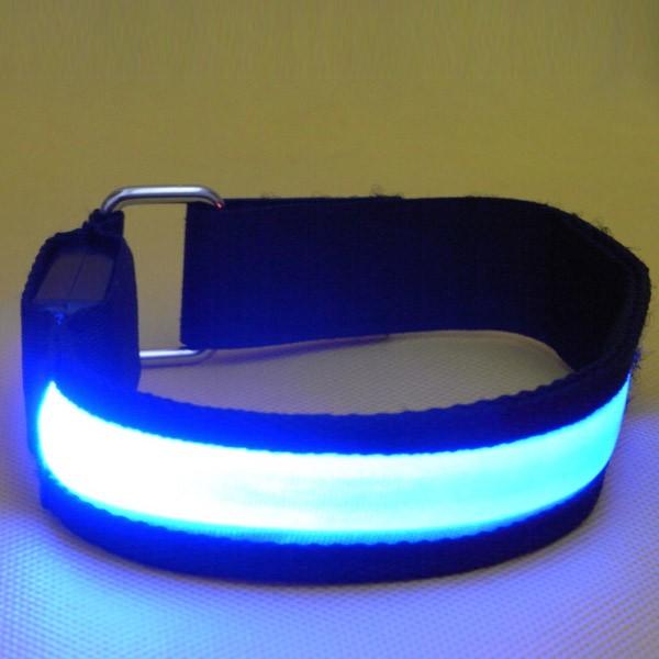 LED High Visibility Flashing Safety Armband