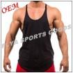 mens bodybuilding stringer gym singlet u neck tank
